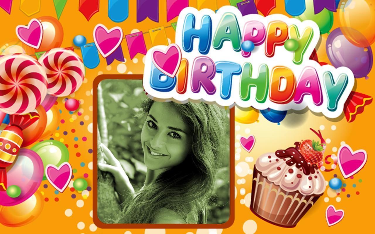Happy Birthday Frames : Free Birthday Photo Frames for