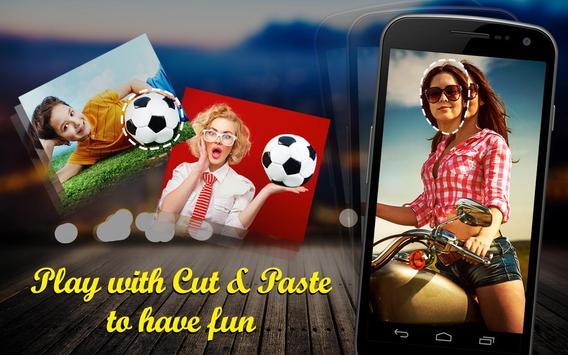 Photo Cut Paste poster