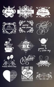 Font Magic-Text On Photo poster