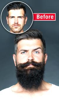 Men Mustache And Hair Styles apk screenshot