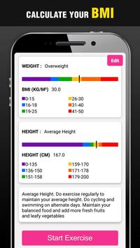Height Increase Exercises at Home - Grow Taller screenshot 3