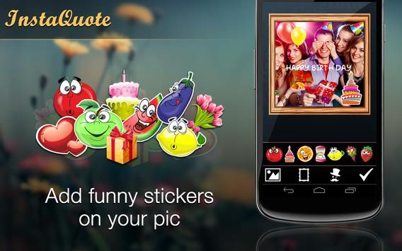 Pic Quote Text On Photo Editor apk screenshot