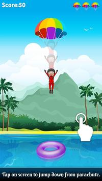 Parachute Jump : Sky Dive Game poster