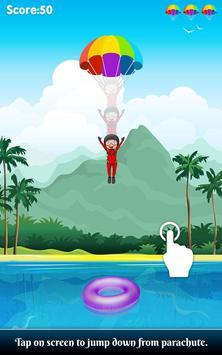 Parachute Jump : Sky Dive Game apk screenshot