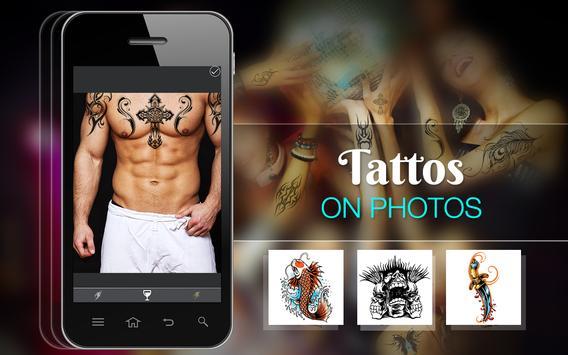 Tattoo On Photo poster