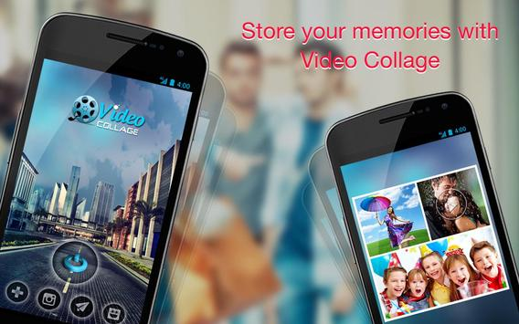 Video Collage - Photo Video Collage Maker Editor poster