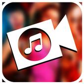 Mix Audio With Video icon