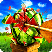 Watermelon Shooting : Archery Shooting Games icon
