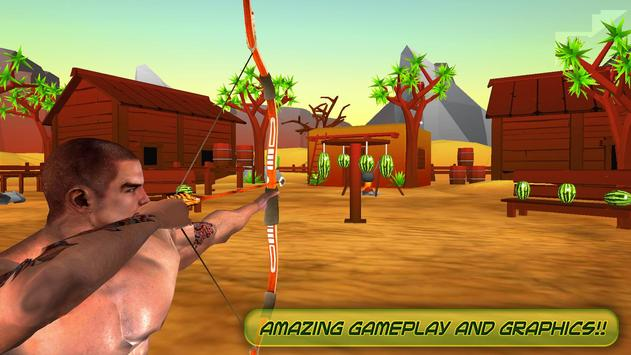 Watermelon Shooting : Archery Shooting Games poster