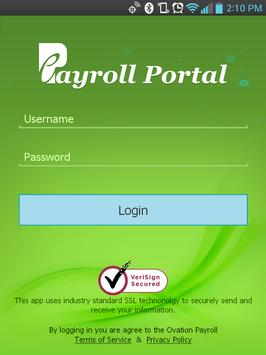 ePayroll Portal poster