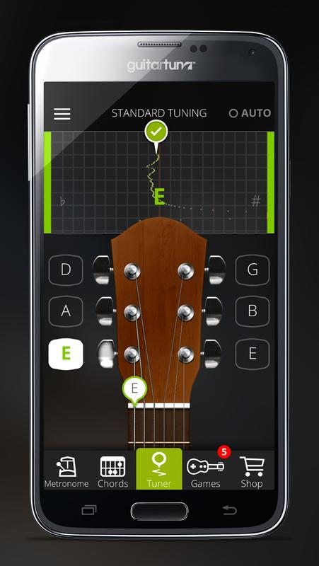 guitar tuner free guitartuna apk download free tools app for android. Black Bedroom Furniture Sets. Home Design Ideas