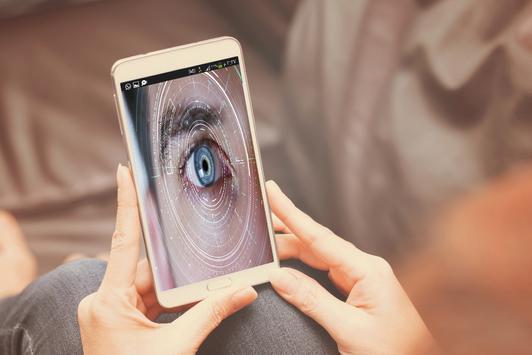 فتح الهاتف بالعين apk screenshot