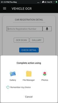 Vehicle OCR screenshot 3