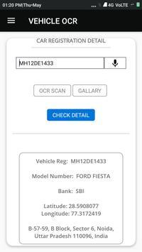Vehicle OCR screenshot 5