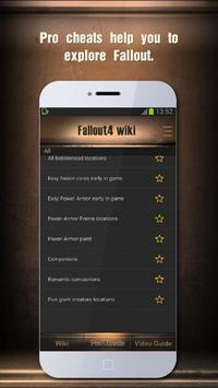 Wiki Guide for Fallout 4 apk screenshot