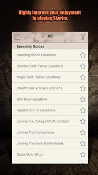 Pro Cheats for Skyrim apk screenshot