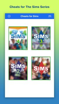 Cheats for Sims 4 & 3 poster