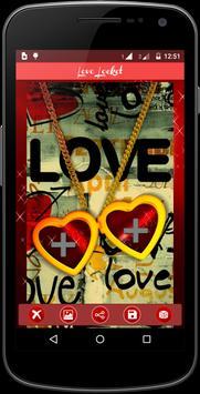 Love Locket Frame apk screenshot