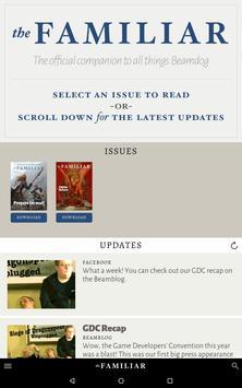 The Familiar Magazine apk screenshot