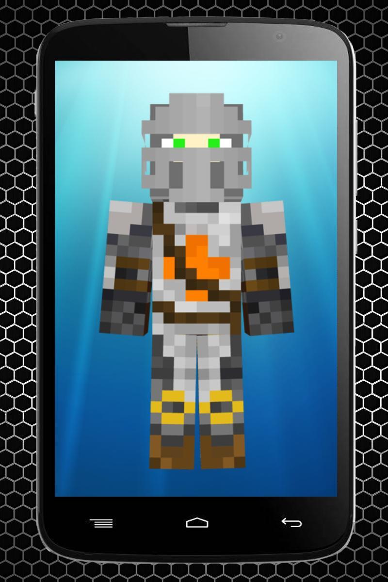 Knight skins for Minecraft para Android - APK Baixar