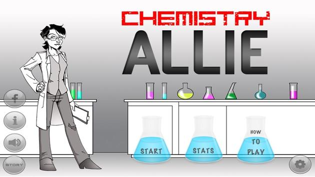 Chemistry Allie Periodic Table poster