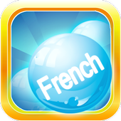 Learn French Bubble Bath Game icon