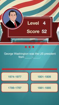 Presidents Trivia FREE screenshot 2
