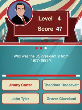Presidents Trivia FREE screenshot 12