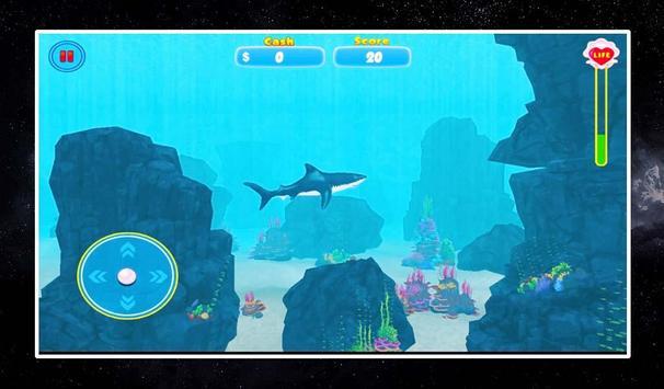 Adventure : Angry Shark screenshot 1