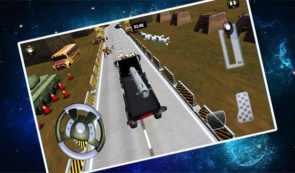 Army War Truck Driver Game poster