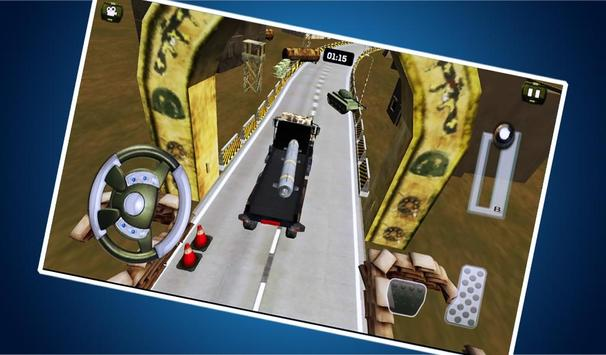 Army War Truck Driver Game screenshot 1