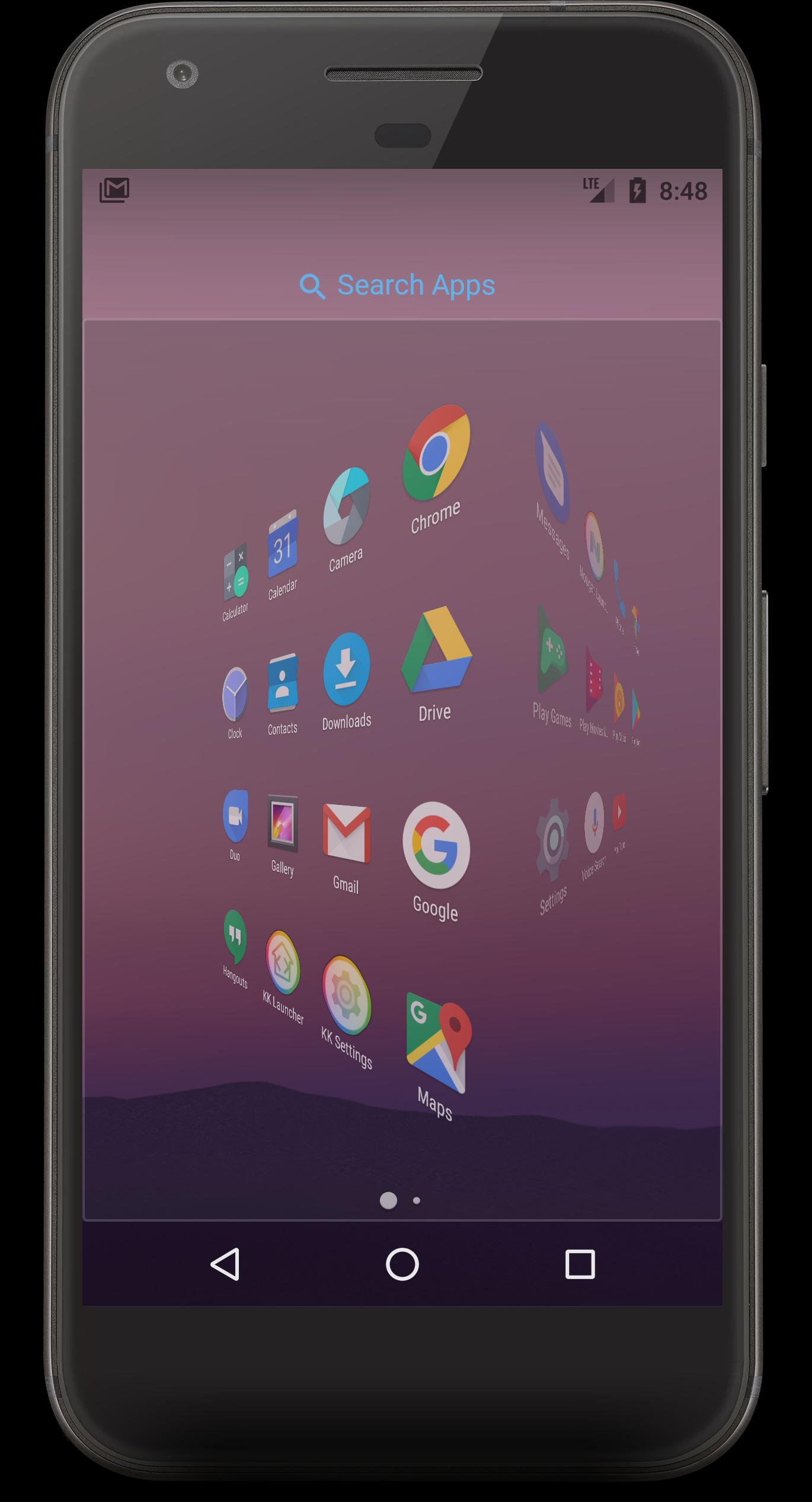 Nougat Launcher for Android - APK Download
