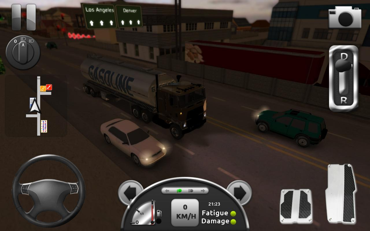 Truck simulator 3d for android apk download for Simulatore 3d