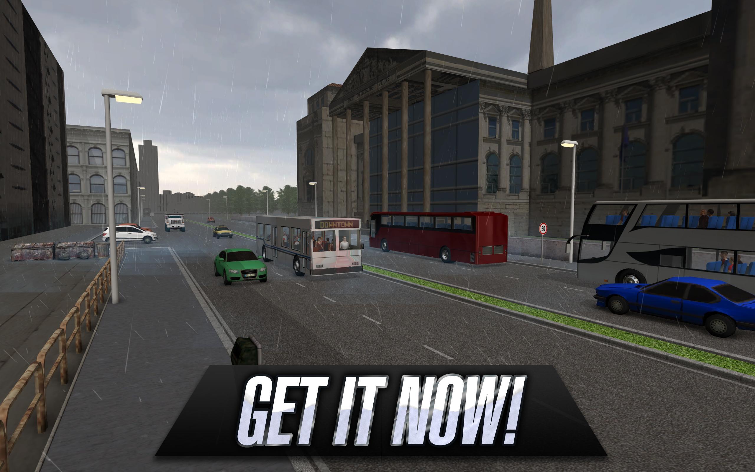 Permainan gratis android Bus Simulator 2015