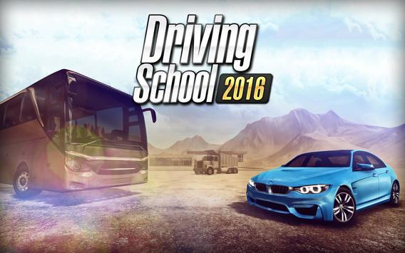 Poster Driving School 2016