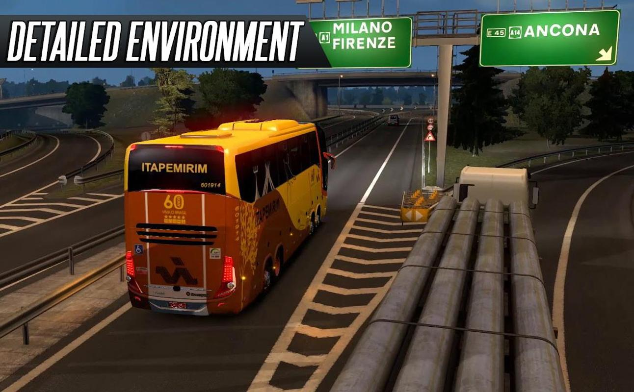 euro bus simulator 2018 for android apk download. Black Bedroom Furniture Sets. Home Design Ideas