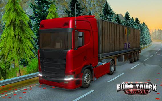 Euro Truck Driver 2018 تصوير الشاشة 12