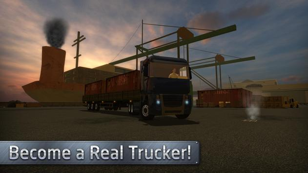 Euro Truck Driver (Simulator) apk screenshot