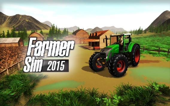 Farmer Sim 2015 poster