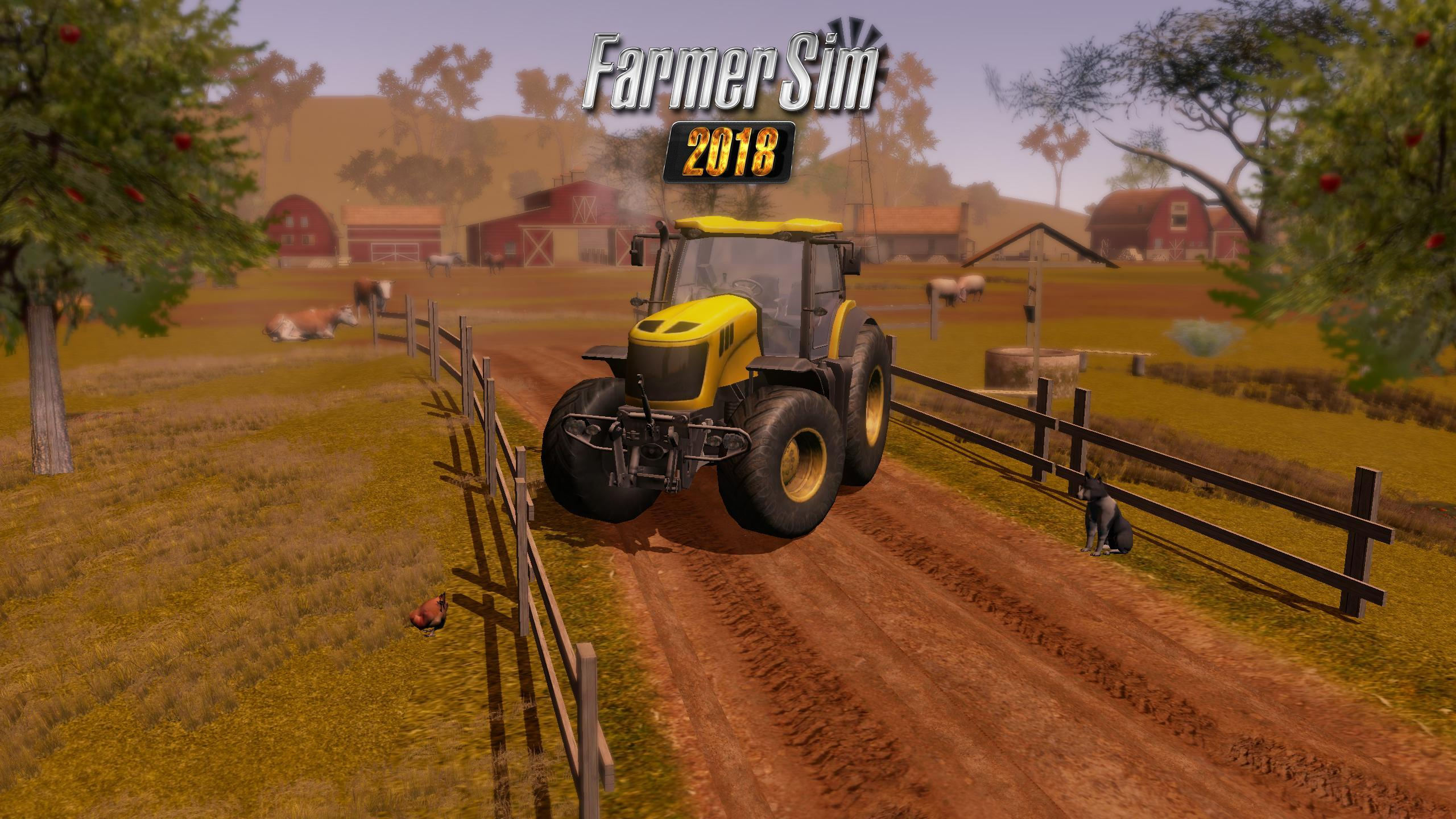 Farmer Sim 2018 For Android Apk Download