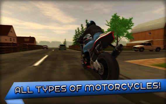 Motorcycle Driving 3D screenshot 3