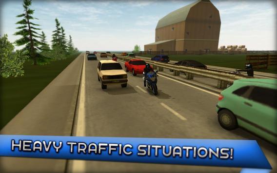 Motorcycle Driving 3D screenshot 4