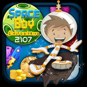 Space Boy Adventure 2017 poster