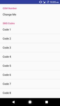 Arduino GSM Controller screenshot 3