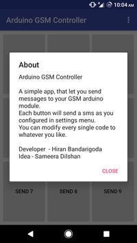 Arduino GSM Controller screenshot 4