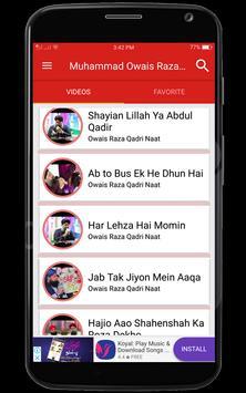 Alhaj Muhammad Owais Raza Qadri Naats screenshot 3