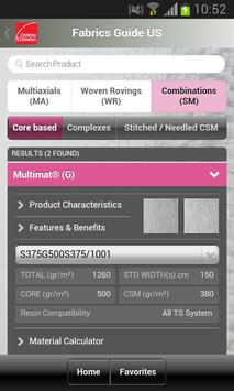 US Technical Fabrics Guide screenshot 7