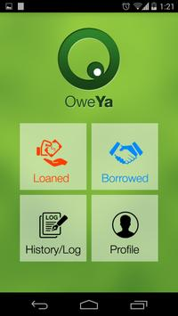 Loan Transaction Tracker OweYa apk screenshot