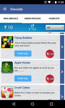 Owoods Money apk screenshot