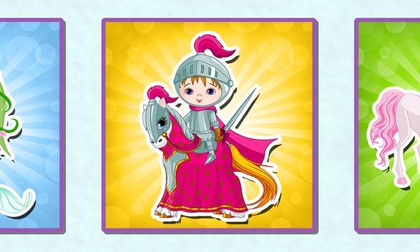 Princess puzzle game for kids apk screenshot